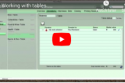 How to work with tables at a Silent Auction (video)